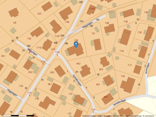1-plansvilla i Populära Lilleby !