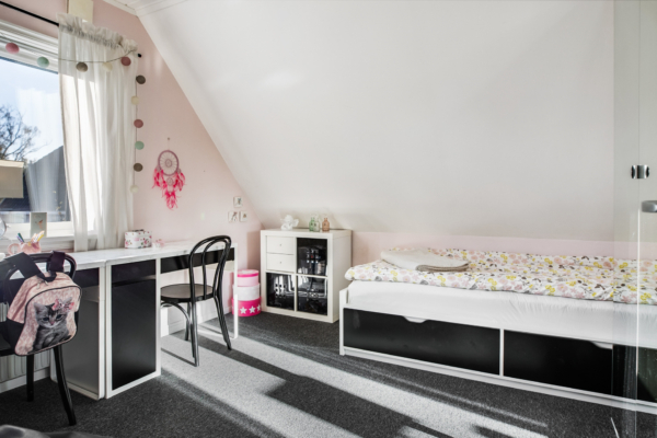 1,5 Plans villa med inredd källare i populära Lilleby!